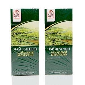 Чай зеленый байховый 2*25*1,8г ТМ Fine Food (Файн Фуд)