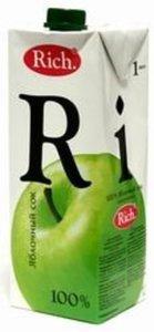 Сок яблочный ТМ Rich (Рич)