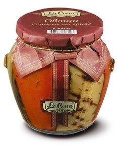 Овощи печеные на  гриле в масле с/б twist-off 580 (12) La Corra