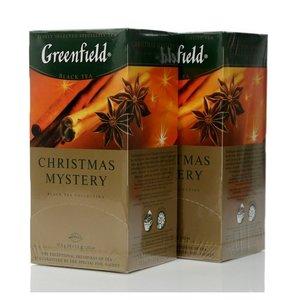 Чай черный Christmas Mystery 2*25*1,5г ТМ Greenfield (Гринфилд)