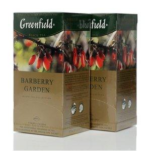 Чай черный Barberry Garden 2*25*1,5г ТМ Greenfield (Гринфилд)