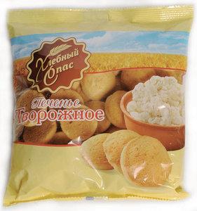 Печенье Творожное ТМ Хлебный Спас