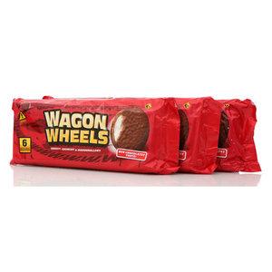 Печенье ТМ Wagon Wheels (Вагон Вилс), 3*6*36г