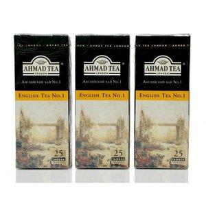 Чай черный 3*25*2г ТМ Ahmad Tea (Ахмад Ти) English Tea №1