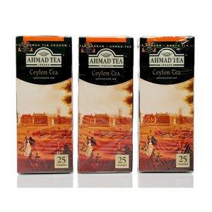 Чай черный Ceylon Tea 3*25*2г ТМ Ahmad Tea (Ахмад Ти)