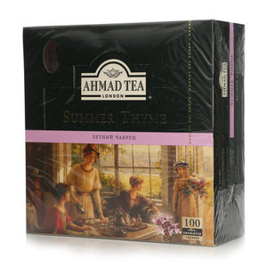 Чай черный байховый Summer Thyme Летний чабрец 100*1,8 г ТМ Ahmad Tea (Ахмад Ти)