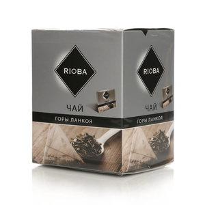 Чай черный Горы Ланкоя 20 пак. ТМ Rioba (Риоба)