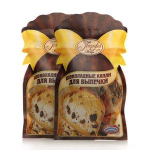 Шоколадные капли для выпечки 2*50г ТМ Парфэ Декор