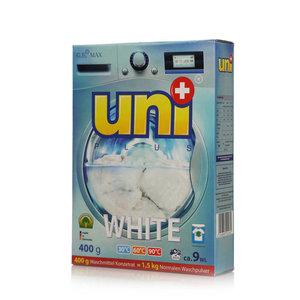 Стиральный порошок концентрированный White ТМ Uni+ (Юни+)