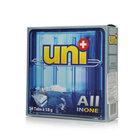 Средство для мытья посуды в посудомоечной машине в таблетках 54*18 г All in one ТМ UNI+