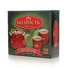 Чай зеленый Китайский 100*1,8г ТМ Бодрость