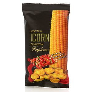 Кукуруза со вкусом барбекю ТМ Icorn (Икорн)