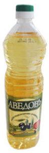 Масло подсолнечно-оливковое ТМ Аведовъ