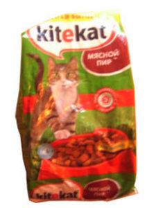 Корм сухой для взрослых кошек ТМ Kitekat (Китекат)