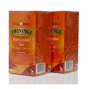 Чай черный 2*25*2г ТМ Twinings (Твайнингс) Pure Ceylon Tea