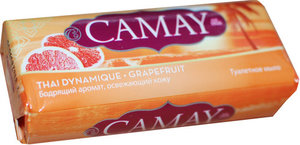 Мыло туалетное твердое ТМ Camay (Камэй) грейпфрут