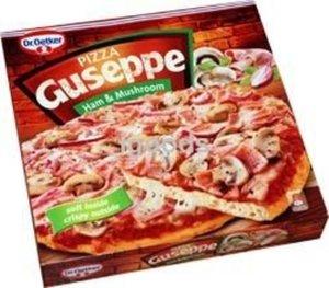 Пицца Ветчина и Грибы Guseppe (Джузеппе) ТМ Dr.Oetker (Др.Оеткер)
