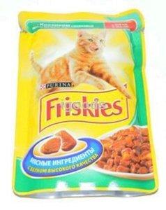 Корм для кошек c кроликом и морковью в подливе ТМ Friskies (Фрискис)