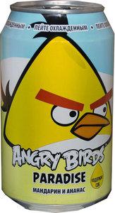 Напиток безалкогольный сильногазированный ТМ Angry Birds мандарин и ананасовый