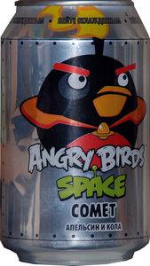Напиток безалкогольный сильногазированный ТМ Angry Birds апельсин и кола