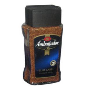 Кофе Blue label растворимый ТМ Ambassador (Амбассадор) сублимированый