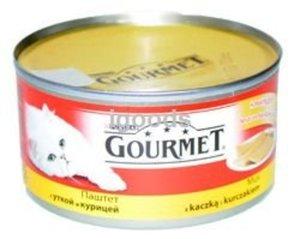 Корм для кошек Gourmet паштет с уткой и курицей