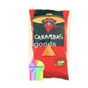 Кукурузные чипсы со вкусом сметаны и лука ТМ Carambas (Карамбас)