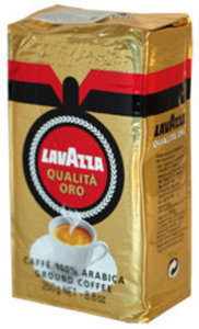 Кофе молотый Qualita Oro высший сорт ТМ Lavazza (Лавацца)