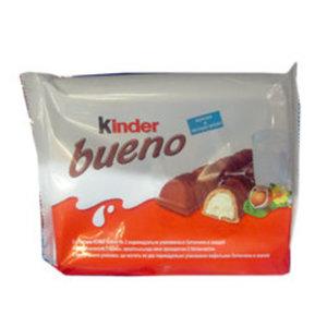 Вафли Bueno молоко и лесные орехи ТМ Kinder (Киндер)
