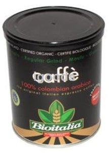 Кофе молотый ТМ Bioitalia (Биоиталия)