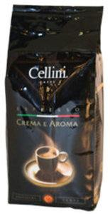 Кофе молотый жареный Crema e Aroma espresso ТМ Cellini Caffe (Челлини Кафи)
