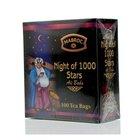 Смесь черного и зеленого чая Ночь 1000 звезд ТМ Mabroc (Маброк), 100 пакетиков
