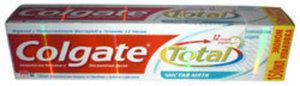 Зубная паста ТМ Colgate Total 12 (Колгейт Тотал 12) Чистая Мята, Защита от Кариеса и Воспаления десен