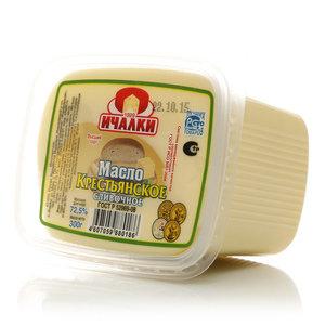 Масло сливочное Крестьянское 72,5% ТМ Ичалки