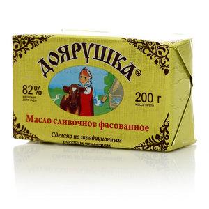 Масло сливочное 82% ТМ Доярушка