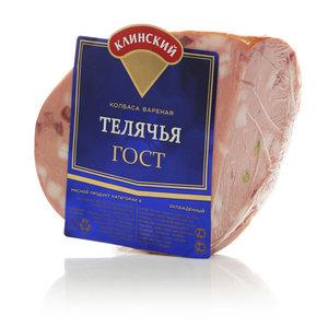Колбаса вареная Телячья ТМ Клинский