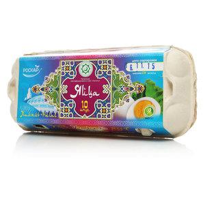 Яйцо куриное Халяль C0 ТМ Роскар, 10 шт.