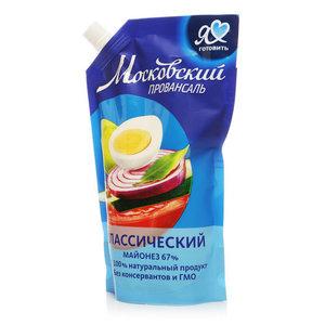 Майонез Классический 67% ТМ Московский провансаль