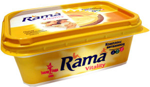 Маргарин Rama Vitality (Рама Виталиту) с комплексом A, D, E ТМ Rama (Рама)