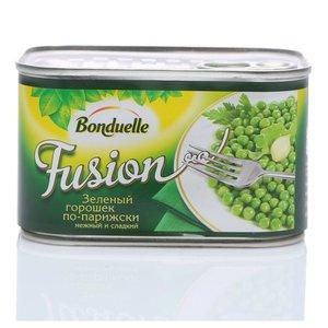 Зеленый горошек по-парижски нежный и сладкий консервированный ТМ Bonduelle (Бондюэль)