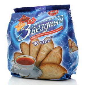 Сухари классические московские ТМ Звездный к чаю