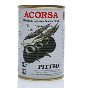 Оливки черные без косточки ТМ Acorsa (Акорса)