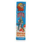 Трубочка для молока Клубника ТМ Tom and Jerry (Том и Джерри), 5 шт