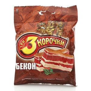 Сухарики ржаные со вкусом бекона ТМ 3 Корочки
