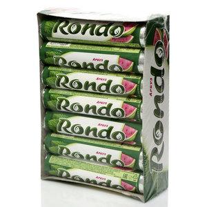 Освежающие конфеты с ароматом арбуза и ментола 14 пачек ТМ Рондо