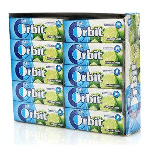 Жевательная резинка Сладкий лайм 30 пачек ТМ Orbit (Орбит)
