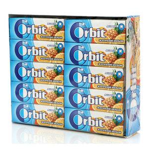 Жевательная резинка Экзотический апельсин 30 пачек ТМ Orbit (Орбит)
