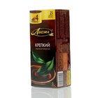 Чай черный индийский байховый ТМ Лисма Крепкий, 25 пакетиков