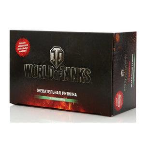 Жевательная резинка мятная 100*2,5г ТМ World of Tanks (Ворлд оф Тэнкс)