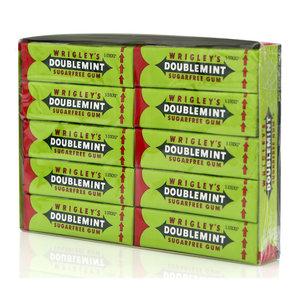Жевательная резинка мятная 20 пачек ТМ Doublemint (Даблминт)